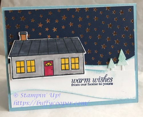 Coming Home, Home Together, Stampin' Up!, Christmas
