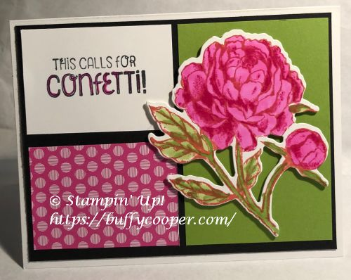 Prized Peony, Stampin' Up!, So Sentimental