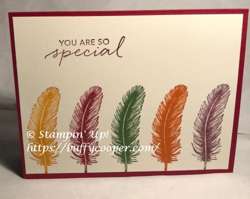 Tasteful Touches, Stampin' Up!