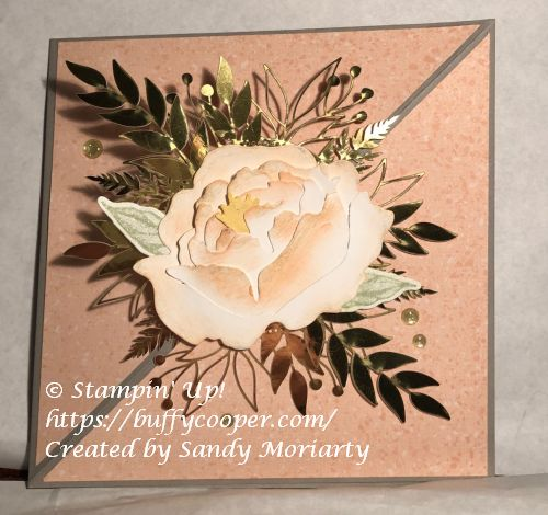 Prized Peony, Forever Flourishing, Stampin' Up!