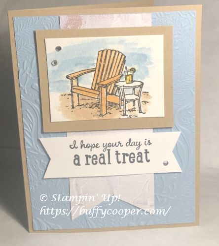 Seaside View, Stampin' Up!, Pampered Pets