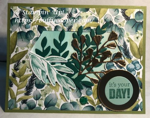 Forever Fern, Forever Greenery, Stampin' Up!, Itty Bitty Birthdays