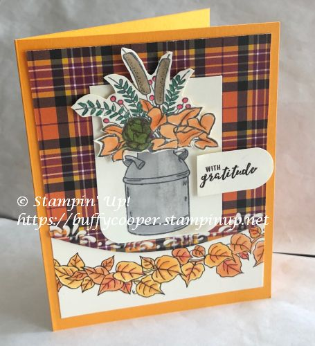 Country Home, Quite Curvy, Itty Bitty Greetings, Stampin' Up!
