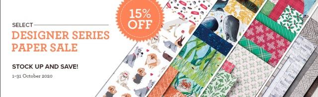 Designer Series Paper, Stampin' Up!
