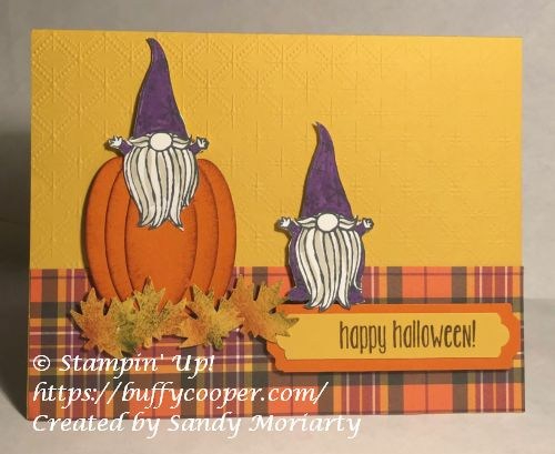 Gnome for the Holidays, Stampin' Up!
