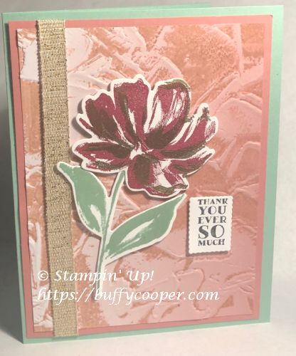 Art Gallery, Stampin' Up!, Many Messages