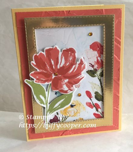 Art Gallery Stamp Set, Fine Art Floral, Stampin' Up!