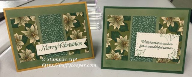 Stampin' Up!, Poinsettia Place, Poinsettia Petals, Light Me Home