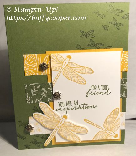 Dragonfly Garden, Dandy Garden, Stampin' Up!
