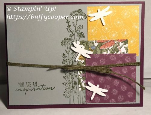 Dandy Garden, Dragonfly Garden, Stampin' Up!