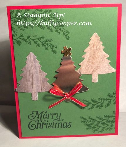 Perfectly Plaid, Curvy Christmas, Stampin' Up!