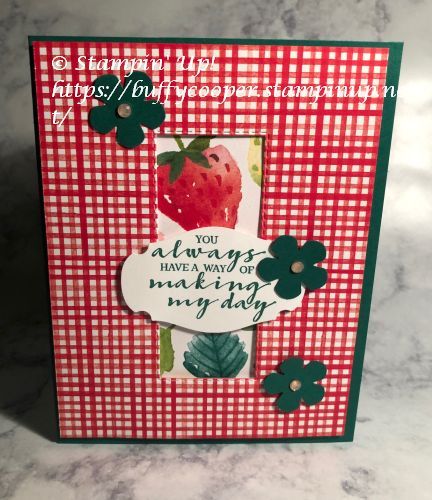 Berry Blessings, Sale-a-bration, Stampin' Up!