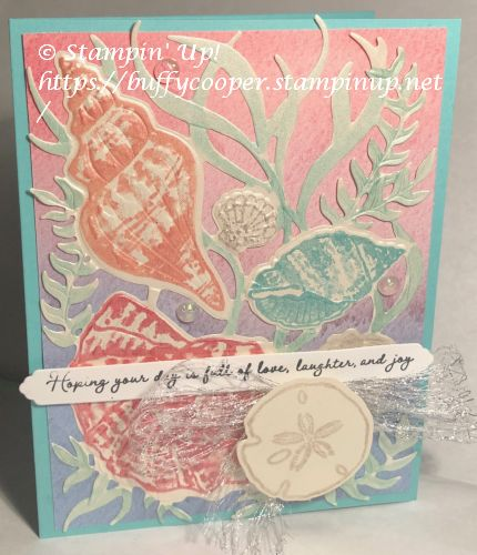 Sand & Sea Suite, Friends Are Like Seashells, Stampin' Up!