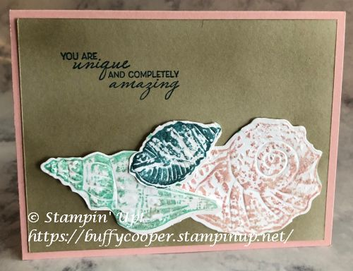 Friends Are Like Seashells, Stampin' Up!