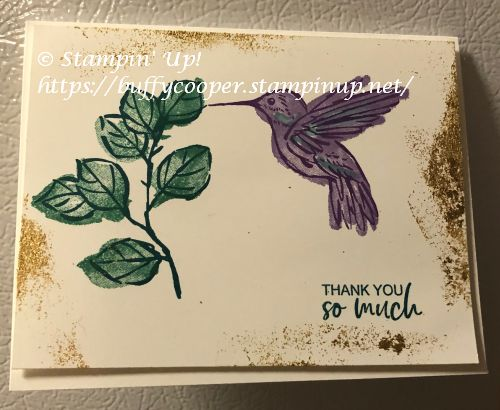 A Touch of Ink, Stampin' Up!
