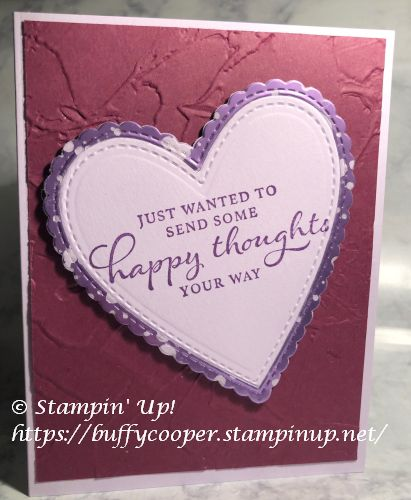 Mercury Glass Acetate, Stampin' Up!, Happy Thoughts
