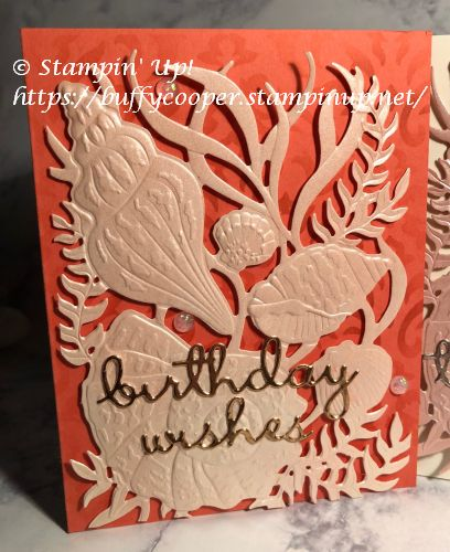 Seaside Seashells, Stampin' Up!