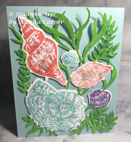 Stampin' Up!, Friends Are Like Seashells, Seashells 3D Embossing Folder