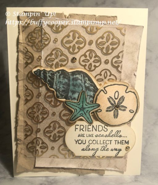 Stampin' Up!, Friends Are Like Seashells