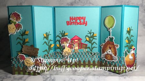 Hey Chick, Hey Birthday Chick, Stampin' Up!
