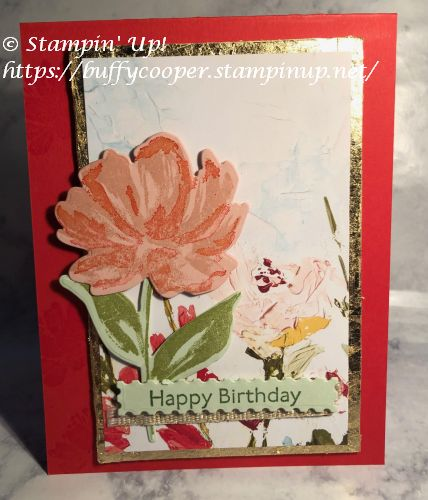 Fine Art Floral Suite, Art Gallery, Stampin' Up!