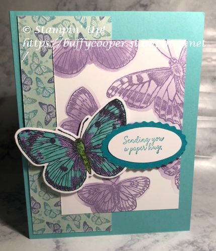 Comfort & Hope, Stampin' Up!, Butterfly Brilliance