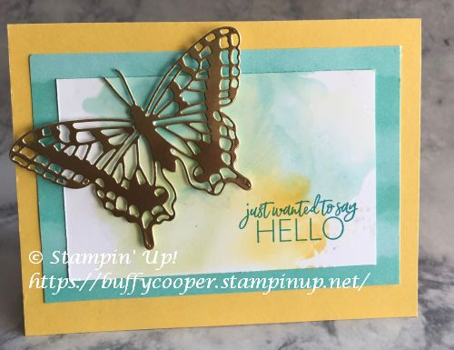 Butterfly Bouquet, Today's Tiles, Butterfly Brilliance, Stampin' Up!