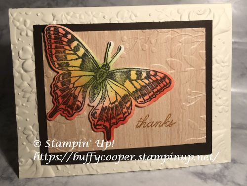 Stampin' Up!, Butterfly Brilliance, Butterfly Bouquet