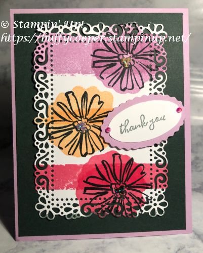 Colors & Contours, Stampin' Up!