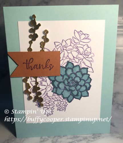 Stampin' Up!, Simply Succulents,
