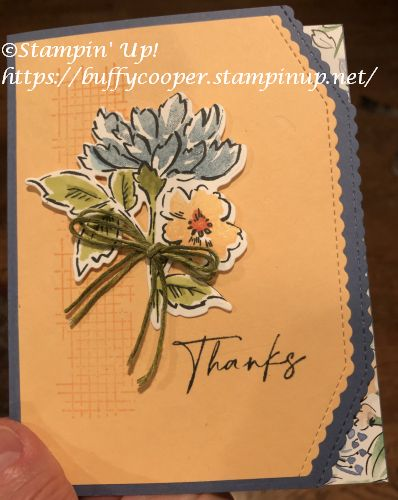 Hand-Penned Petals, Comfort & Hope, Stampin' Up!