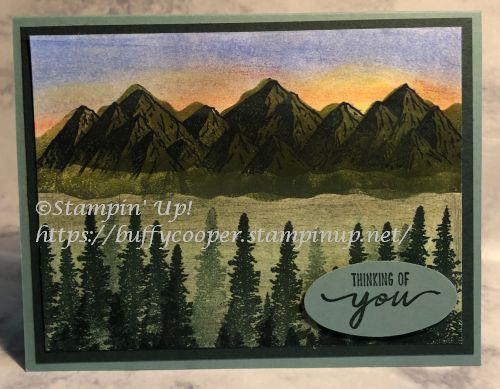Mountain Air, Stampin' Up!, Soft Pastels