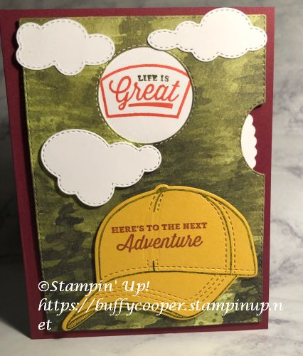 Give it a Whirl, Stampin' Up!, Hats Off