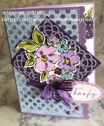 Hand Penned Petals, Stampin' Up!