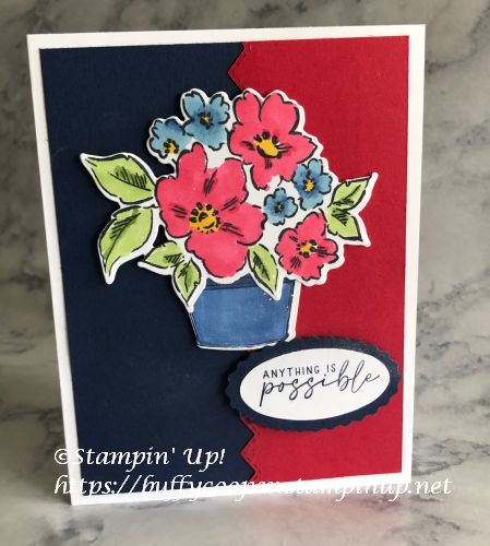 Hand-Penned Petals, Simply Succulents, Stampin' Up!