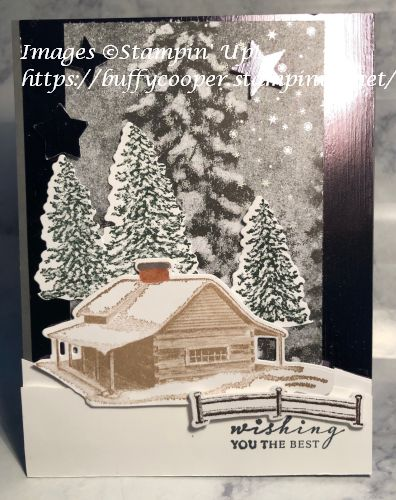 Peaceful Cabin, Stampin' up!