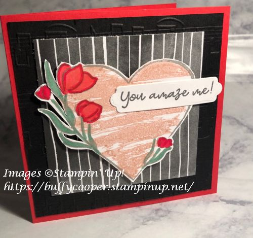 Strong of Heart, Stampin' Up!