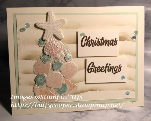 Friends Are Like Seashells, Stampin' Up!, Sweet Little Stockings