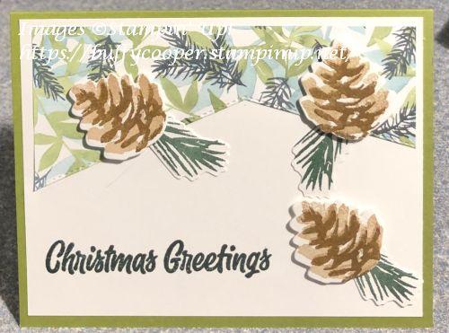 Christmas Season, Stampin' Up!, Sweet Little Stockings
