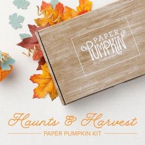 Paper Pumpkin, Stampin' Up!, Haunts & Harvest