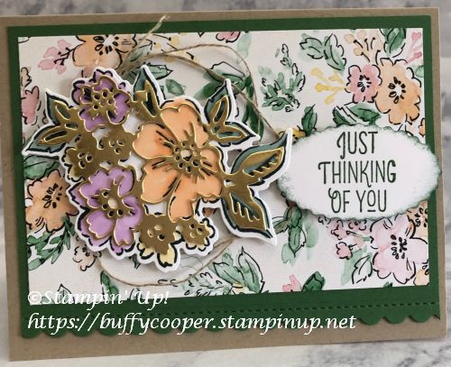 Stampin' Up!, Hand-Penned Petals, Many Mates
