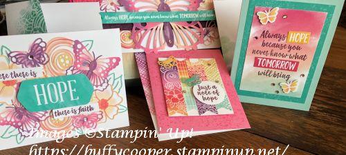 Paper Pumpkin, Stampin' Up!, Hope