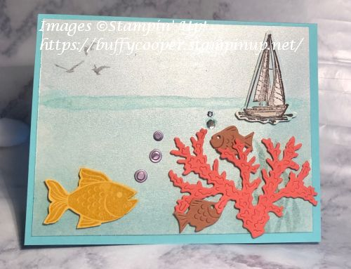 Seascape, Stampin' Up!, Sailing Home