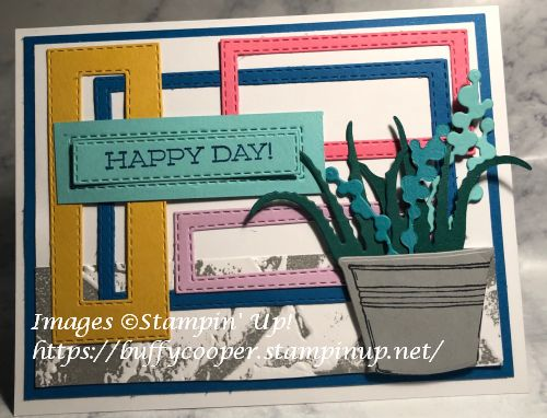 Simply Succulents, Stampin' Up!, Badger Besties