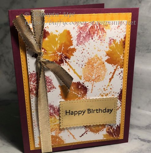 Gorgeous Leaves, Stampin' Up!, Art Gallery