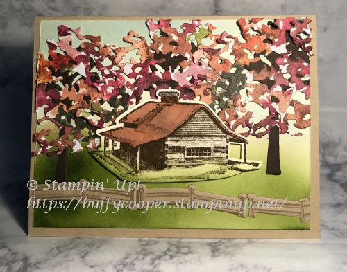 Peaceful Cabin, Stampin' Up!, Beauty of Friendship