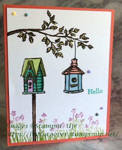 Garden Birdhouses, Stampin' Up!