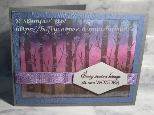 Welcoming Woods, Stampin' Up!